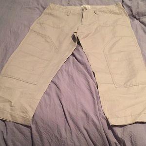 Old Navy Linen Capris. Size 10.